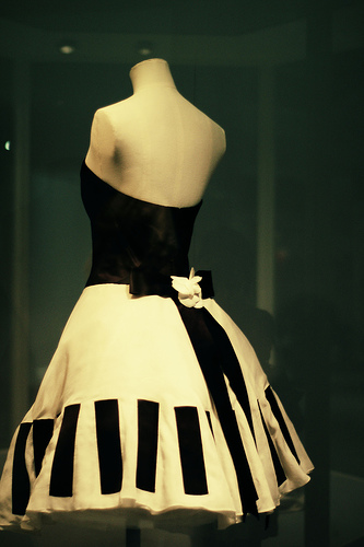 Chanel Piano Dress
