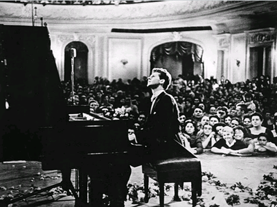Van Cliburn at 1958 Tchaikovsky Competition